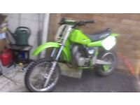 Kawasaki kx60 motorcross bike