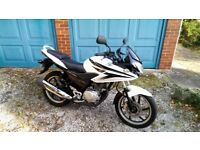 Honda CBF125, White, Great Condition, Heated Grips, Top Box, Full Service History, Well Maintained