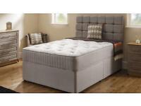 Kingsize memory foam 1000 pocket sprung mattress