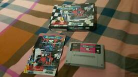SNES MICROMACHINE2 BOXED GAME