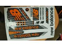 new ballance bat stickers