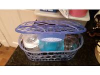 Dishwasher basket for bottles, teats etc...