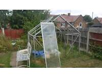 Free Greenhouse for collection- must dismantle