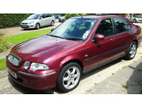 Rover 45 1.6 Impression S. FULL YEARS MOT (JULY 2017). 4 door. 90,000 miles. Full leather interior.