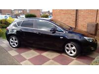 Vauxhall Astra 1.6 sri Black 2010 Genuine low mileage Peterborough