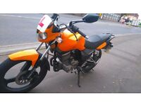 Zontes panther 125cc, very low milage and practically brand new!