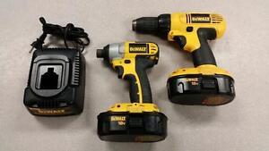 DeWALT DCK235C 18V Drill & Impact Driver Combo Set