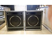 Dj speakers used