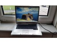 dell inspiron 6400 windows 7 60g hard drive 2g memory dvd drive wifi comes with charger