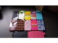 Used, 11 Assorted iphone 4s cases for sale  Nottinghamshire