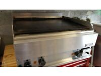 Zanussi 3 phase electric griddle