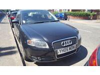 Audi a4 in black
