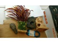 Fish Tank Ornaments bundle
