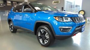 2017 Jeep Compass TRAILHAWK 4X4 - LEATHER-NAV - PANOROOF