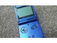 Blue Gameboy Advance SP - With Charger (and games if preferable)