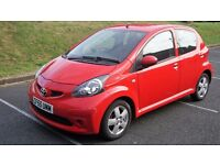 Toyota Aygo Sport, full service history, mot till january, air con, alloys, front foglights
