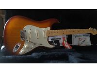 Fender Stratocaster Deluxe , S1 Ash bodied Genuine american built Guitar