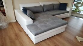 Delivery 1-10 days LORETO NEW Corner Sofa Bed Sofa Corner Brand New Packed Function and Storage