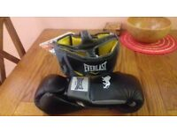 Boxing gloves + headgear (16oz)