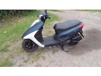 yamaha xc 125 e vity scooter fuel injected 64 plate with two keys and service history