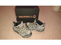Merrell walking boots - MOAB 2 LTR MID GTX uk size 8 - £70 - Pecan in colour