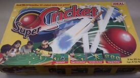 3D Interactive Cricket Board Game
