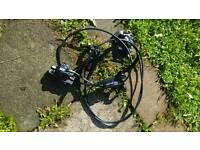 Hydrolic brakes mountain bike