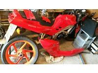 Honda nsr 125 jc20 breaking all parts cheap