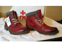 Ladies rieker antistress fully lined boots