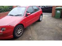 Car for sale mg ZR rover