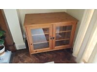 IKEA Leksvik Cabinet with glass doors. Bargain needs to go ASAP - £20