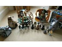 Job lot of Dr Who toys