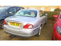 Jaguar x type with very low 30450 miles