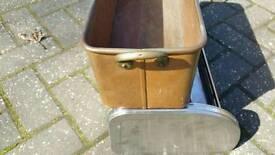 Large Vintage Copper Planter Plant Pot