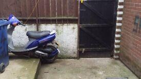 Sym jet 50cc moped no mot no tax no insurance starts first kick