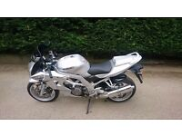 Clean Suzuki SV1000 looking for a new home.