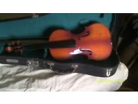 TWO FIDDLES both SKYLARKS IN PERFECT CONDITION but NEED Re STRINGING ++++++++