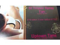 St Tropez Spray Tan Service £15