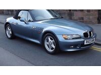 BMW Z3 1.9 Sport 2 Door Convertible, Full Service History, Long MOT, Must be seen!