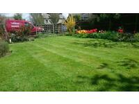 Garden lawns and hedges and power washing