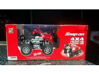 RARE SNAP-ON REMOTE CONTROL MONSTER 4X4