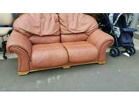Sofa italian leather