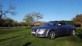 Audi A4 Convertible Sline 2.0TDI High Spec with FSH