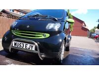 smart fortwo 700cc turbo, remapped, complete over haul new engine, this smart is a one off!