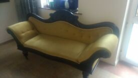 Old antique French style sofa
