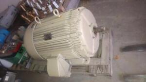 Westinghouse, 200 HP, 3 Phase, 575 Volts Electric Motor