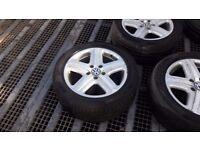 VW Touareg Wheels + Tyres (set of 4) used