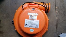Bouncy castle blower in orange in very good condition and full working order! Can deliver or post!