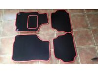4 Car floor matts