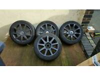 Rs4 style wheel 5x100 and 5x112i think swaps?
